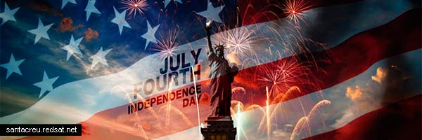 4 de julio día nacional de los EEUU