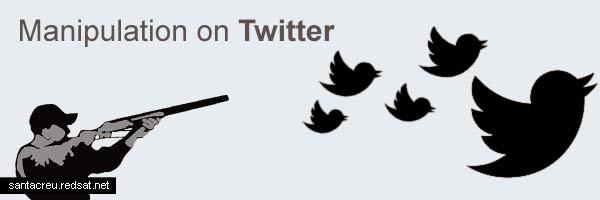 La manipulación de Twitter y archivada la causa del 8-M
