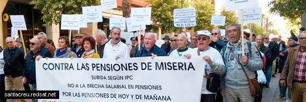 Los jubilados y pensionistas comprados con un 3%